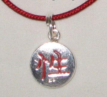 Seduction Silver Necklace Feng Shui