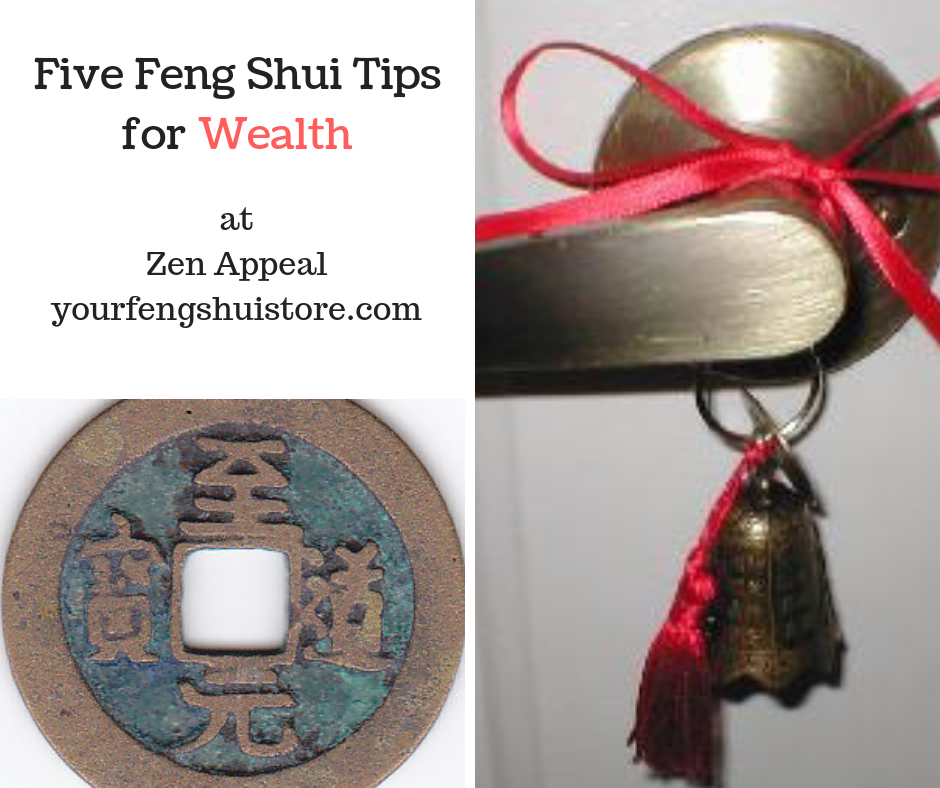 Five Feng Shui Tips for Wealth