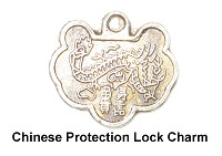Chinese Protection Lock Charm