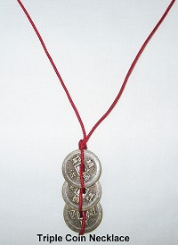 Triple Coin Necklace