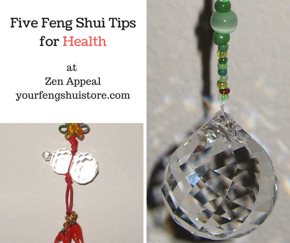 Five Feng Shui Tips for Health