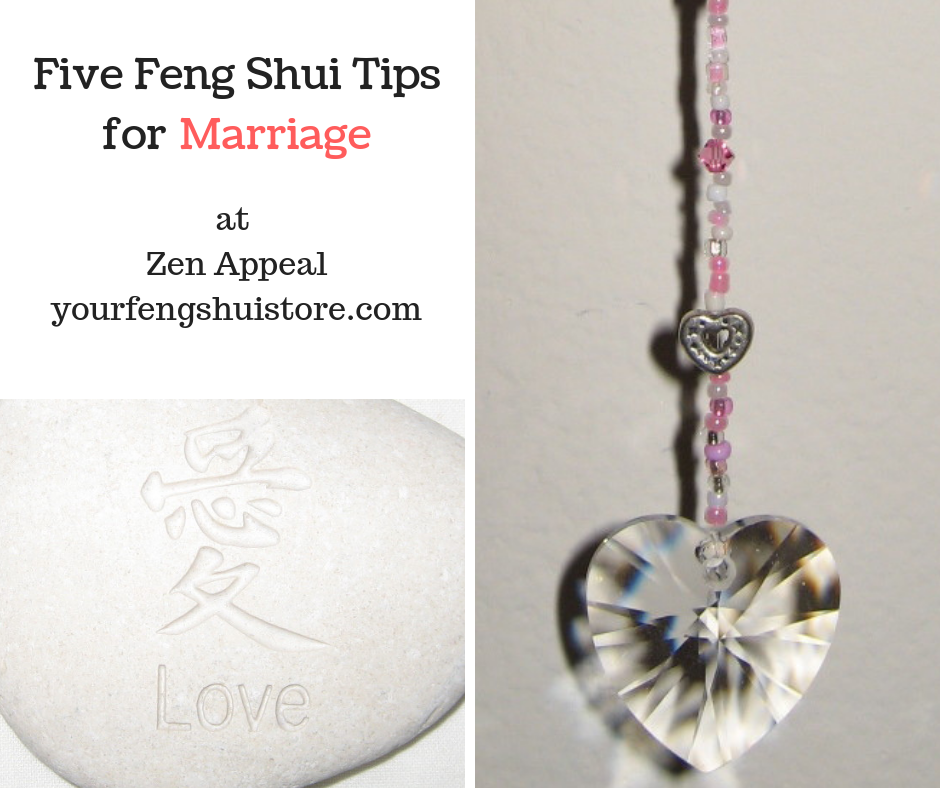 Five Feng Shui Tips for Marriage