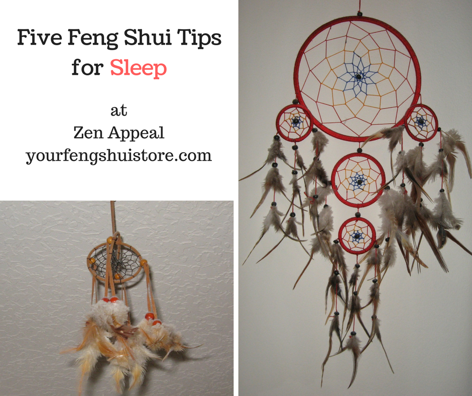 Five Feng Shui Tips for Sleep