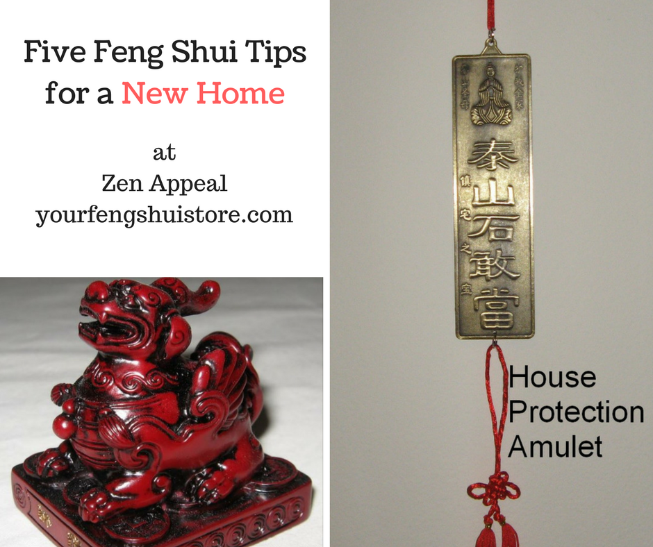 Five Feng Shui Tips for a New Home