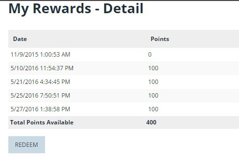 How do I use the Zen Appeal Customer Rewards Points Program feature?