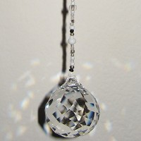 Swarovski Safe Traveler and Synchronicity Hanging Crystal
