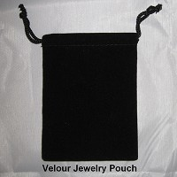 Velour Jewelry Pouch